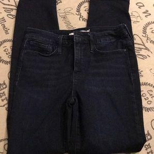 Athleta dark wash jeans size 8 womens